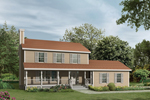 Country Farmhouse Creates Relaxing Appeal