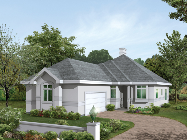 Baxter narrow lot home plan 001d 0033 house plans and more for Side entry garage