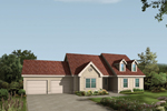 Appealing Ranch Has Attractive Front Dormers