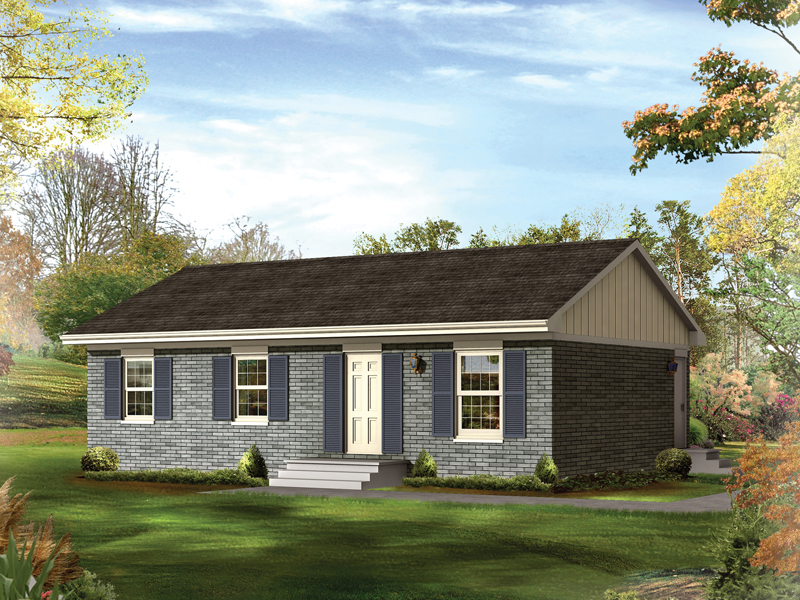Grass Roots II Ranch Home Plan 001D-0042