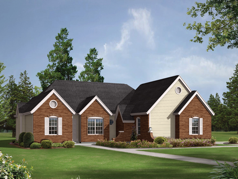 Traditional House Plan Front Image - 001D-0044 | House Plans and More