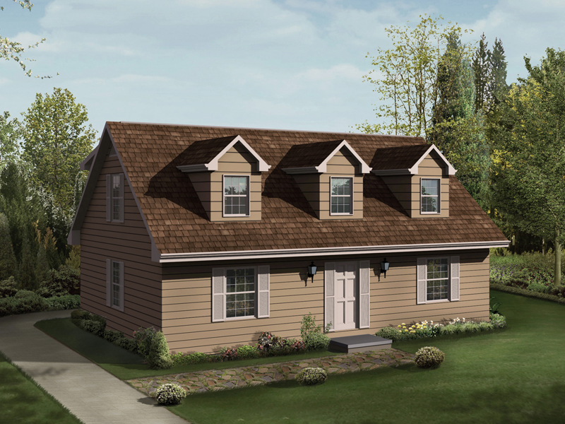 Cabin & Cottage House Plan Front Image - 001D-0056 | House Plans and More