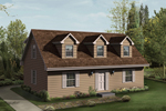 Cabin and Cottage Plan Front Image - 001D-0056 | House Plans and More