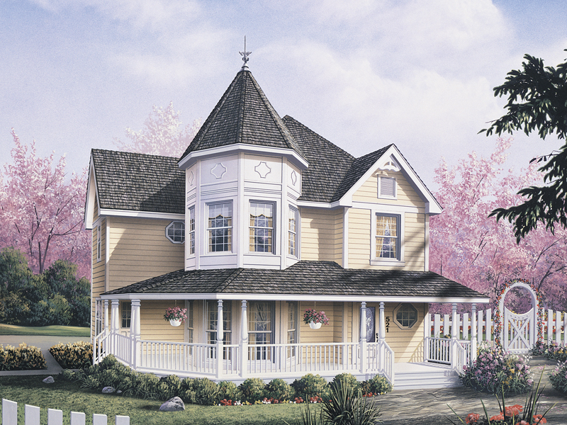 Lexington Victorian Home Plan 001D 0059
