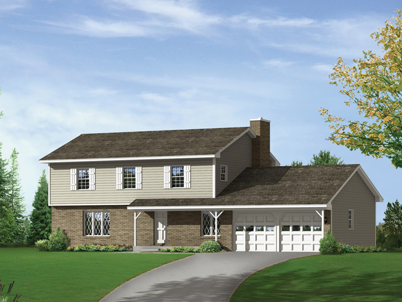 Country House Plan Front of Home - 001D-0063 | House Plans and More