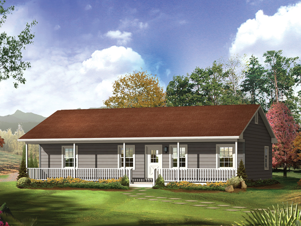 Impressive Simple Ranch Style Homes with Front Porch 600 x 450 · 277 kB · jpeg