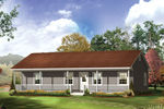 Accommodating Ranch Style Home With Front Porch