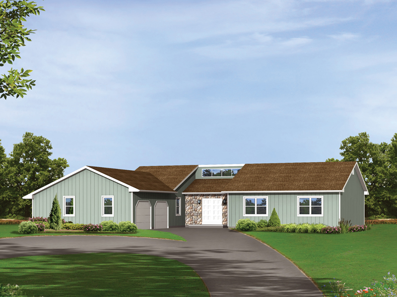 Sienna contemporary ranch home plan 001d 0083 house for Modern ranch house plans