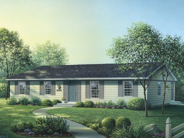 Country House Plan Front Image - 001D-0090 | House Plans and More