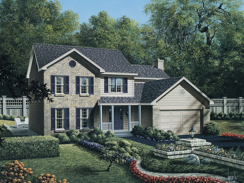 Practical Two-Story, Full Of Features