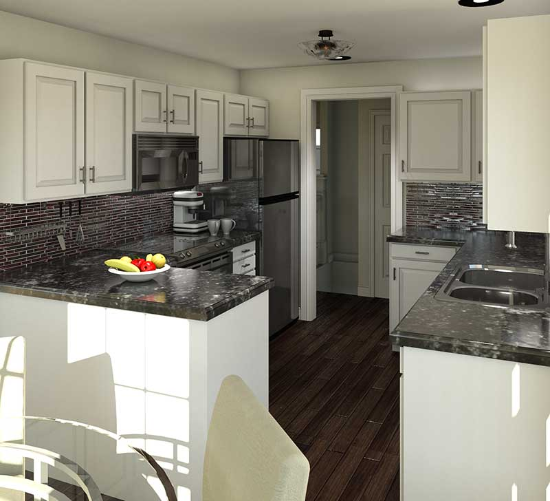 Country House Plan Kitchen Photo 01 - 003D-0005   House Plans and More