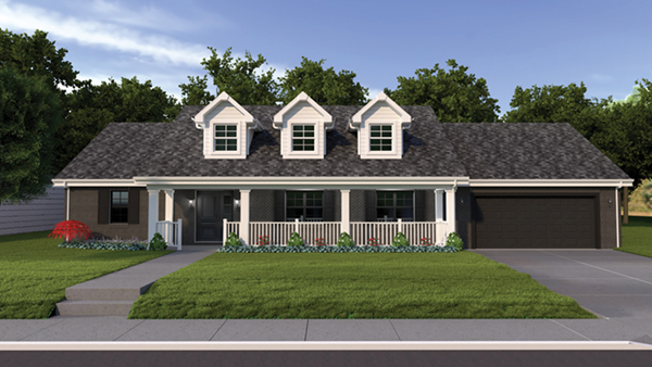 Ryland ranch home plan 005d 0001 house plans and more for Ryland homes design center reviews