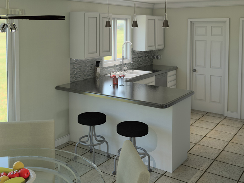 Farmhouse Plan Kitchen Photo 01 005D-0001