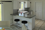 Colonial Floor Plan Kitchen Photo 01 - 005D-0001 | House Plans and More