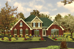 Traditional House Plan Front Image - 007D-0001 | House Plans and More