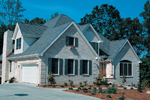 Traditional House Plan Front Photo 02 - 007D-0001 | House Plans and More