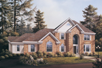 Luxury House Plan Front Image - 007D-0006 | House Plans and More