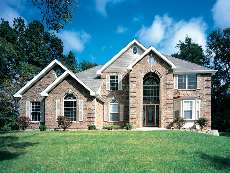 Luxury House Plan Front of Home 007D-0006