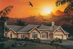 Sunbelt Home Plan Front Image - 007D-0007 | House Plans and More