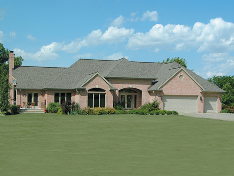 Modern House Plan Front of Home 007D-0007