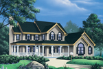 Country House Plan Front Image - 007D-0011 | House Plans and More