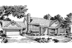 Ranch House Plan Front Image of House - 007D-0012 | House Plans and More