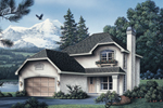 A Hipped Roof And Stucco Exterior Intrigue The Eye