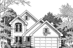 Sunbelt Home Plan Front Image of House - 007D-0014 | House Plans and More