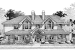 Country House Plan Front Image of House - 007D-0021 | House Plans and More