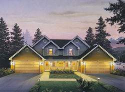 Multi Family House Plans fl1 dual family house plans on multi family living house plans Multi Family House Plans