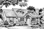 Cape Cod & New England House Plan Front Image of House - 007D-0030 | House Plans and More