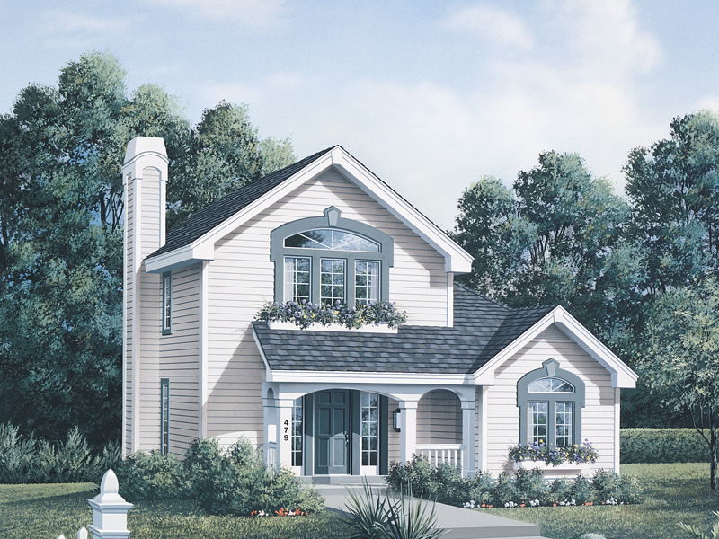 Country House Plan Front of Home - 007D-0032 | House Plans and More