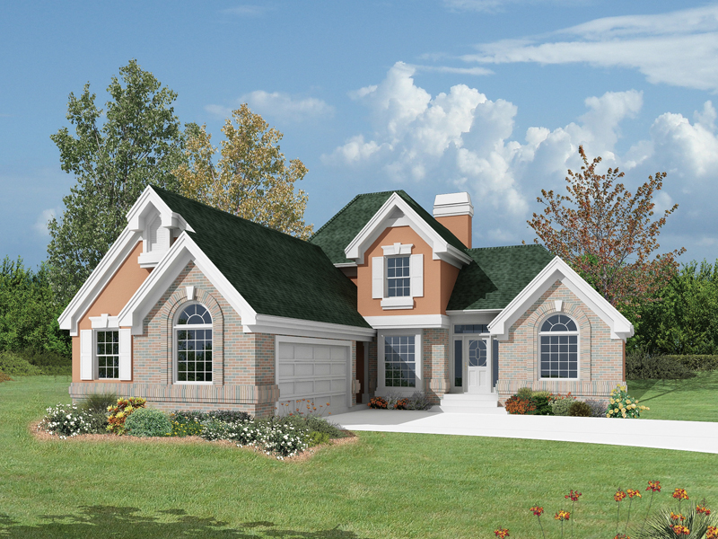 Yorkshire Country French Home Plan 007D-0035 | House Plans and More
