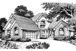 Country House Plan Front Image of House - 007D-0035 | House Plans and More