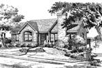 Traditional House Plan Front Image of House - 007D-0037 | House Plans and More