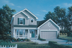 Traditional House Plan Front Image - 007D-0038 | House Plans and More
