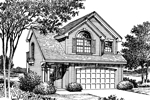 Cabin and Cottage Plan Front Image of House - 007D-0040 | House Plans and More