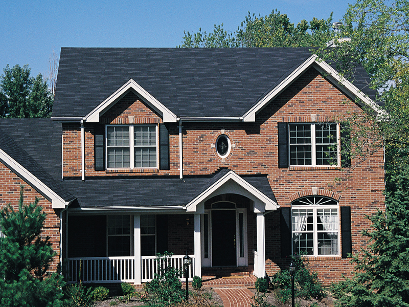 Traditional brick house plans for Traditional brick homes