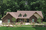 Sensible Country Ranch With Dormers And Enjoyable Covered Patio