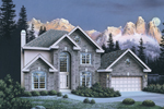 Traditional House Plan Front Image - 007D-0051 | House Plans and More
