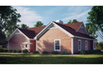 Farmhouse Plan Rear Photo 02 - 007D-0055 | House Plans and More