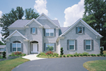Traditional House Plan Front Photo 01 - 007D-0059 | House Plans and More