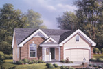 Ranch House Plan Front Photo 01 - 007D-0060 | House Plans and More