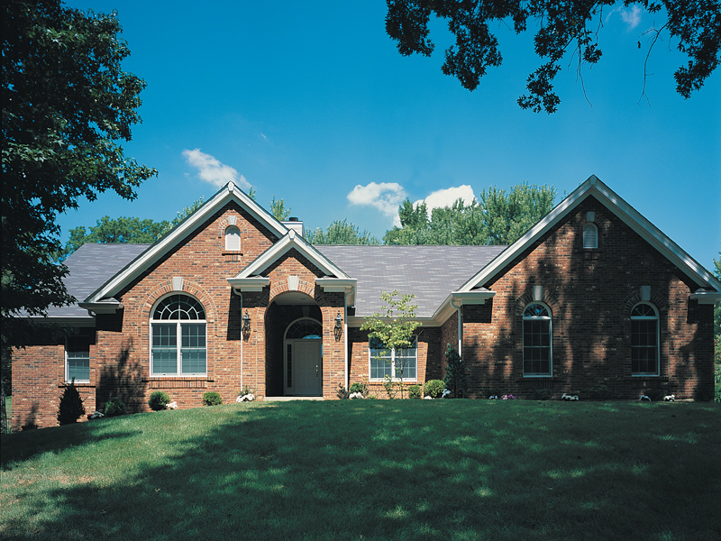 Classic Brick Faade With A Natural Elegance