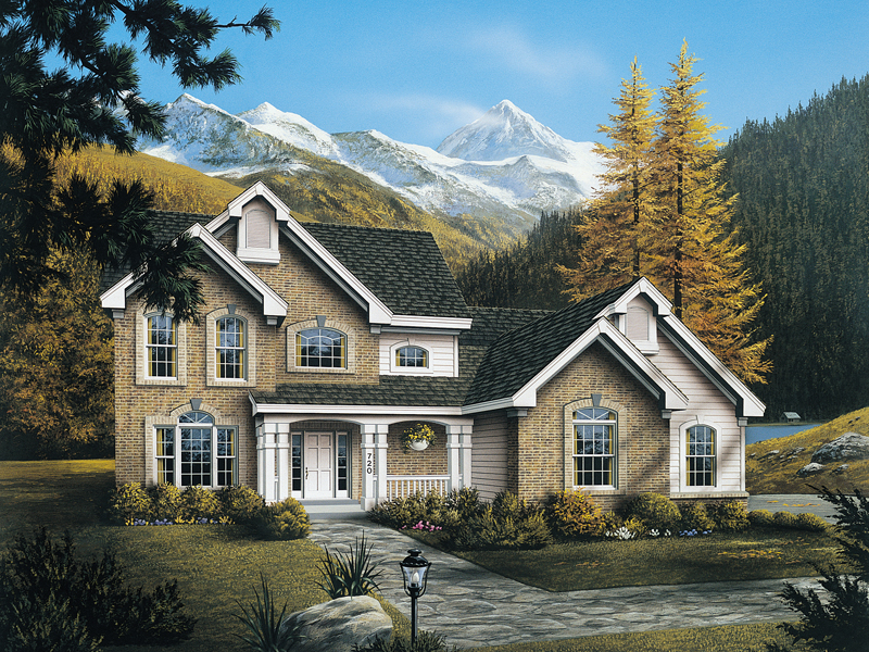 Country House Plan Front Image - 007D-0063 | House Plans and More