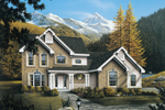 Traditional House Plan Front Image - 007D-0063 | House Plans and More