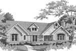 Neoclassical Home Plan Front Image of House - 007D-0069 | House Plans and More