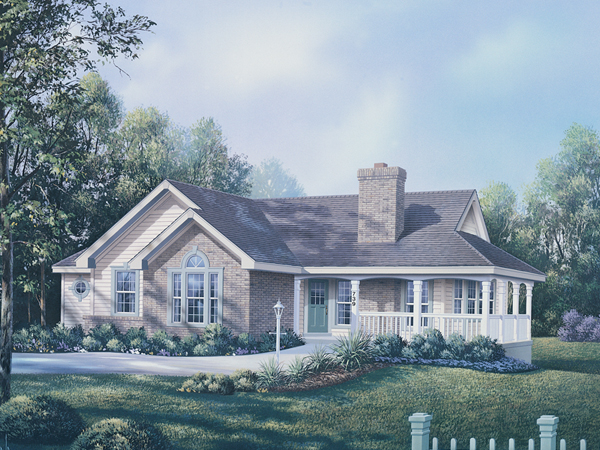 Ranch floor plans with wrap around porch for Ranch style house plans with basement and wrap around porch