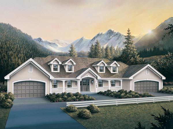 Coral Gables Atrium Duplex Home Plan 007d 0076 House