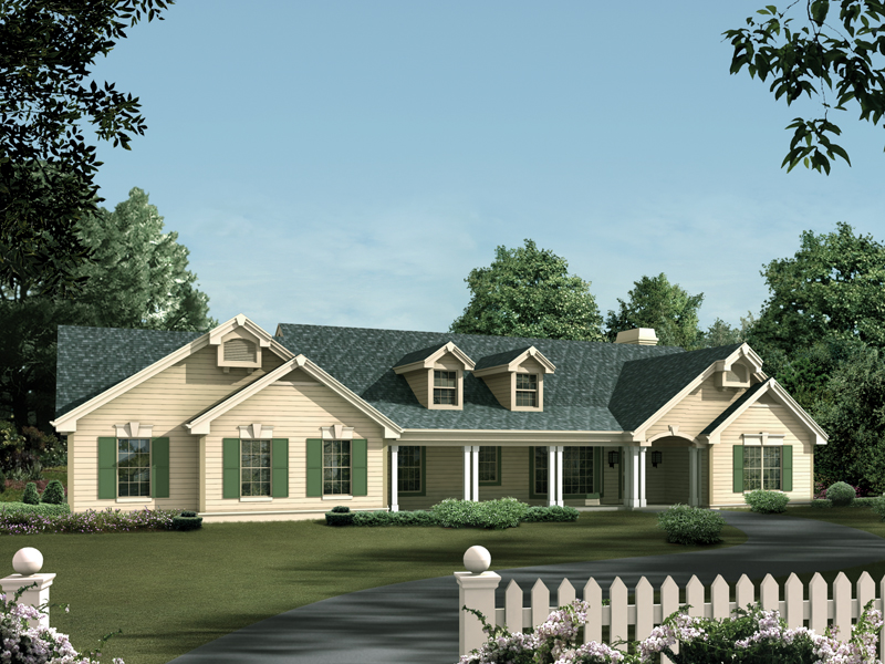 Clayton Manor Ranch Home Plan 007D 0078 House Plans and More
